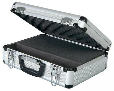 Chord 127.037 Rugged Strong Large Lockable Microphone Flight Case With Keys New