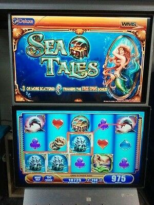 WMS SEA TAILS    G+DELUXE    SOFTWARE WMS BB2 DUAL SCREEN ALL ORIGINAL