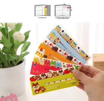 Portable Cute Sticker Post-It Bookmark Marker Memo Flags Index Tab Sticky Notes