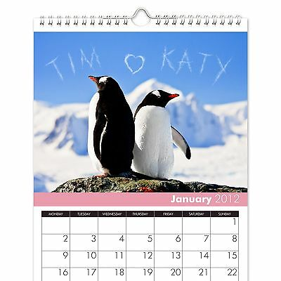 Personalised Couples Calendar - Me and You