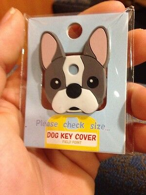 French Bulldog Dog Key Cover Field Point Brand New! Cute! Great Gift!