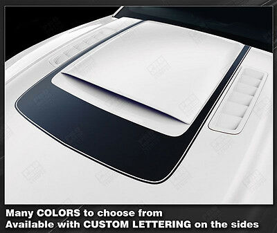 Ford Mustang Roush Style Hood Stripe 2013 2014 Sport Graphics Decals Pro Motor