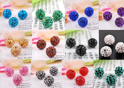 5pc Colorful Sexy Loving Lip Crystal Pave Disco Finding Bracelet Connector Beads