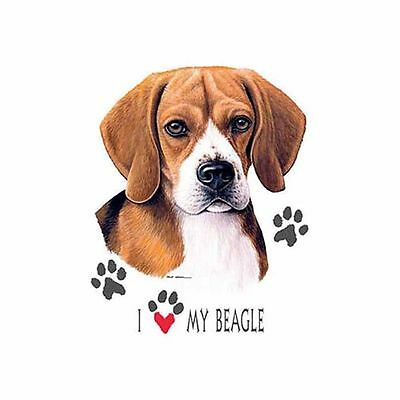 Refillable Tissue Tube with 1 Refill package 85002 I Love my Beagle