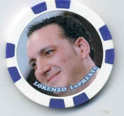 LORENZO LoPRESTI   GANGSTER  COLLECTOR CHIP