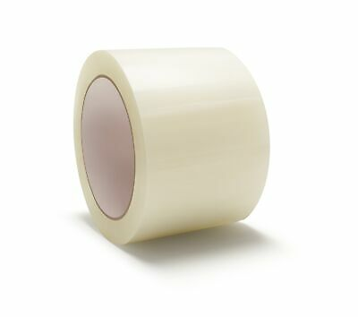 "144 Rolls Hotmelt Clear Packing 3 Mil Shipping Box Tape 3"" x 55 Yards"
