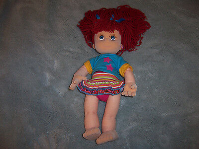 """OLIVIA REESE PLAY ALONG DOLL WITH OUTFIT RED HEAD FLOCKED 14""""  SOOO CUTE!"""