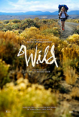 """WILD (2014) Original Movie Poster 13""""x19"""" ***Reese Witherspoon"""