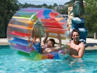 Water wheel fun roller by Airtime Pool toy 100cm x 65cm