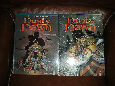 Dusty Dawn - Lot Des 2 Premiers Tomes En Editions Originales Vents D'ouest