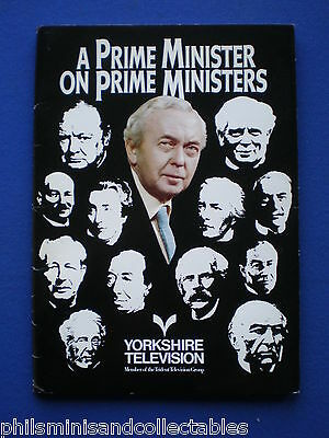 A Prime Minister on Prime Ministers  Yorkshire TV  Promotional Press item 1977