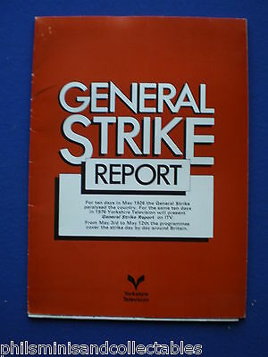 General Strike Report   Yorkshire TV  Promotional Press item 1976