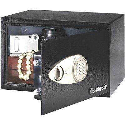 Sentry Safe Steal-Safe Security Floor Safe with Double lock: Key and Combination