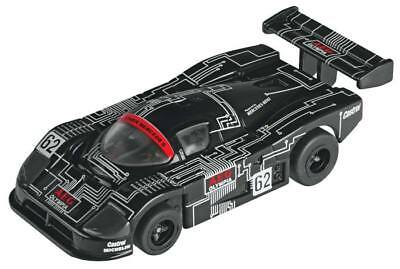 AFX 70640 HO Scale Collector Series Mercedes C9 #62 Slot Car Clear Windows