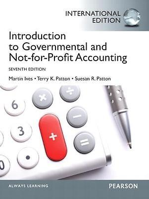 Introduction to Governmental and Not-for-Profit Accounting PORTOFREI