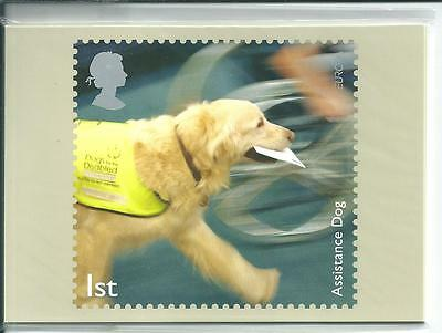 GB - PHQ CARDS -2008 - WORKING DOGS  - BACK - FDI/SHS - COMP. SET USED