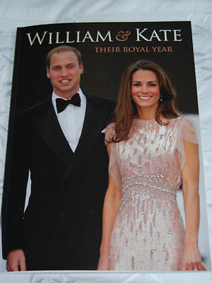 Prince William & Kate Middleton Their ROYAL Year Glossy Book Duchess Cambridge