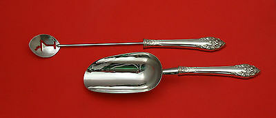 Fragrance by Reed & Barton Sterling Silver Bar Set 2pc HHWS  Custom Made