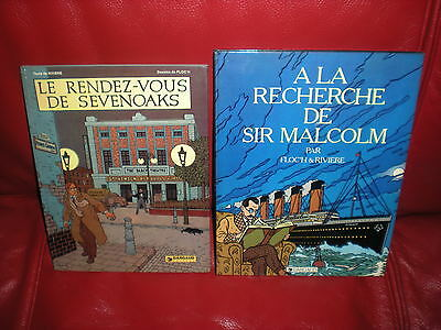 Albany Et Sturgess - Floc'h / Riviere - Lot 2 Tomes Dont Une Edition Originale