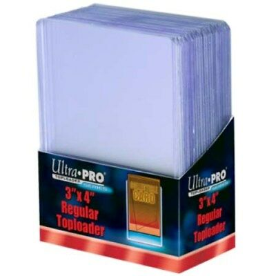 500 Ultra Pro Regular 3x4 Toploaders Brand New top loaders