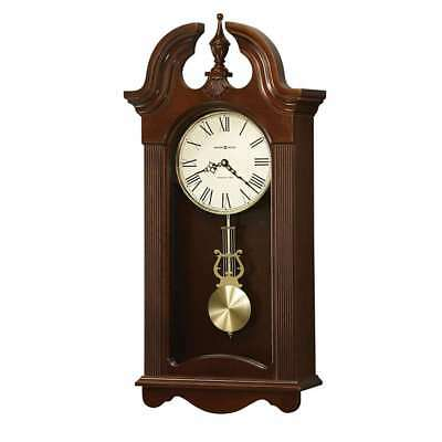 Howard Miller Malia Wall Clock, Cherry Bordeaux - 625466