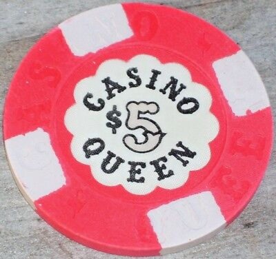 $5 Gaming Chip From The Casino Queen Cruise Lines Casino