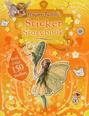 Flower Fairies Sticker Storybook by Cicely Mary Barker (English) Paperback Book