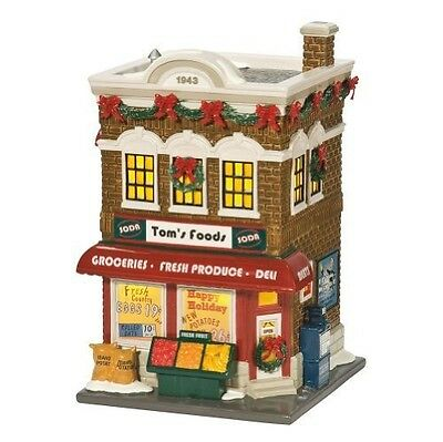 Tom's Foods  NEW Department 56 Snow Village FREE SHIPPING