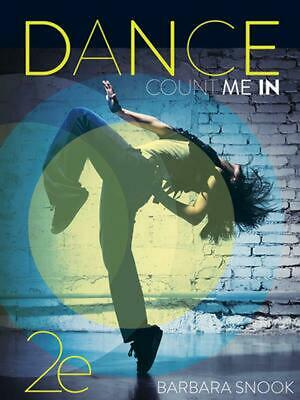 Dance: Count Me In! by Barbara Snook Paperback Book Free Shipping!