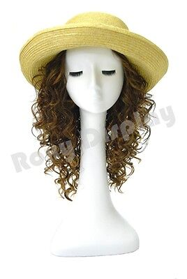Female Mannequin Head long-necked Bust Wig Hat Jewelry Display #MZ-NO.51