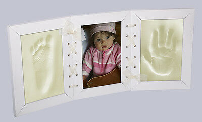 Memories Factory © Photo Picture Frame Baby Hand & Foot Print Clay Casting Kit