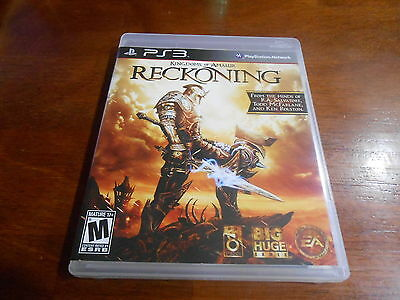 +++ KINGDOMS OF AMALUR RECKONING Sony Playstation 3 PS3 Game COMPLETE +++