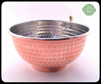 Copper Shaving Bowl  Mug  Cup for Shaving Brush and Safety Razor.