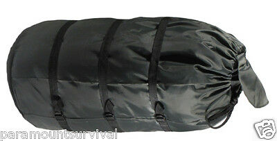 Lightweight Camping Compression Stuff Sack Bag for Sleeping Bag Outdoor Grey