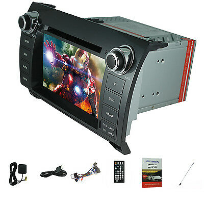 """7"""" Windows LCD Car DVD Player Touch GPS Stereo Radio for Toyota Tundra 2003-2013"""