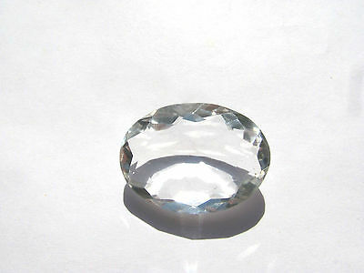 Bergkristall facett. Crystal 26,7x19,5 mm 32 ct. U10838