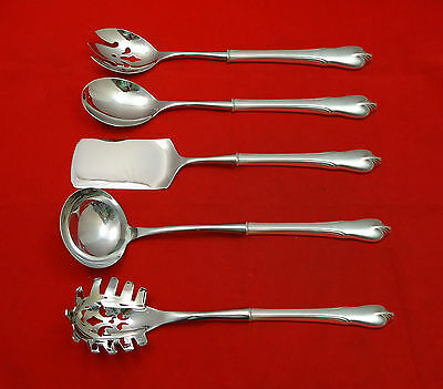 Grand Colonial by Wallace Sterling Silver Hostess Set 5pc HHWS Custom Made
