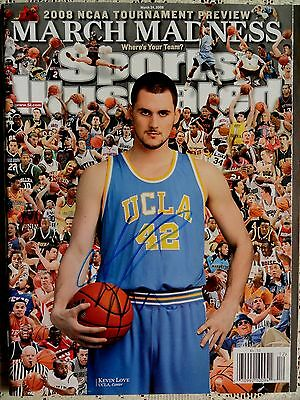 Kevin Love Signed Autographed Sports Illustrated March 2008 UCLA