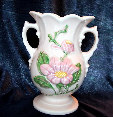 Vintage Old Antique 1947 Hull Art Vase Pottery Gloss Finish Magnolia H-5-6 1/2""