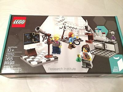 Lego Ideas Research Institute #21110.Hard To Find. Free Priority Shipping.