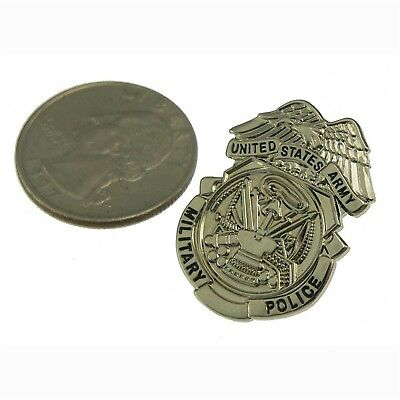US Army Military Security Police MP Mini Badge Lapel Pin Novelty 1 inch