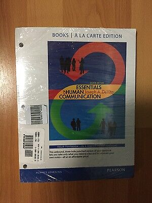 Essentials of human communication 8th edition devito joseph a essentials of human communication 8th edition by joseph a devito soft cover fandeluxe Images