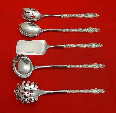 Irian by Wallace Sterling Silver Hostess Set 5pc HHWS  Custom Made