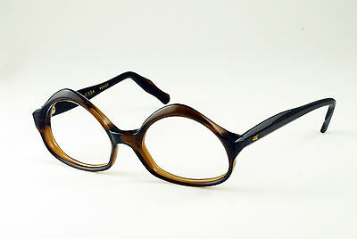 VINTAGE 1960's SWANK VANESSA MAPLE EYEGLASS FRAMES NOS DEADSTOCK MADE IN FRANCE