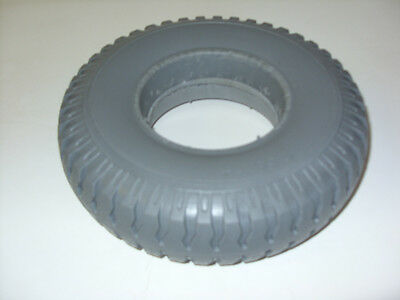 2.50-4 Puncture Proof Solid Mobility Scooter Tyre. Brand New Colour Grey.