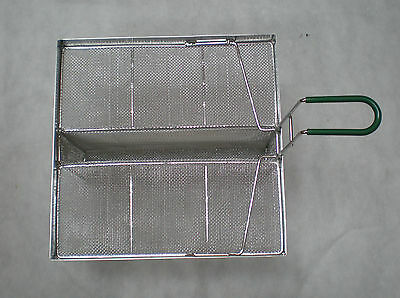 """sediment tray, ~15""""x~13.5"""" with well, all stainless, 5004377"""