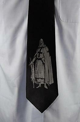 Jacques Demolay Fremason Masonic Silk Tie