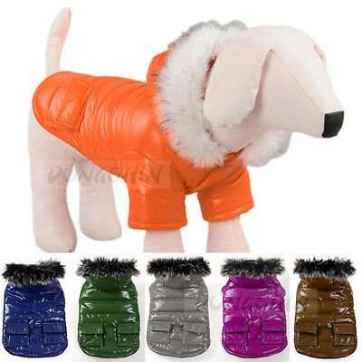 Fashionable Pet Supplies Waterproof Clothes Puff Winter Coat Warm for Puppy Dog