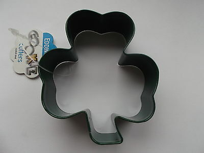 Eddingtons Green Shamrock Cookie/ Biscuit Cutter. St Patrick s Day.