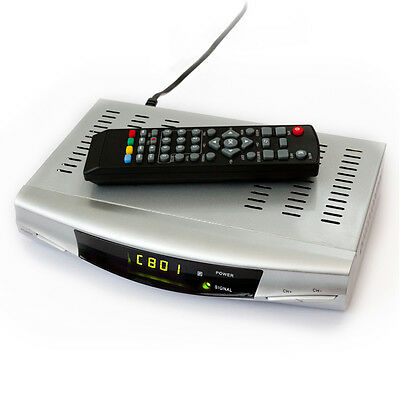 Standard SD Freeview Digital TV Tuner Box Receiver + Recorder  Set Top (NOT HD)